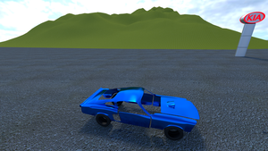 Car Topology is HARD (Car WIP and a Simple Scene) by salk32