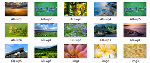 Windows 7 6956 Wallpaper Pack by xGameGuy360x