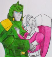 Springer and Arcee by Allosauridae13