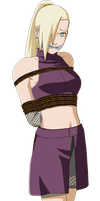 Ino Yamanaka Tied Up and Gagged 2 by songokussjsannin8000
