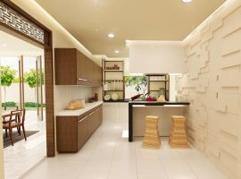 oriental kitchen by 3Dskaper