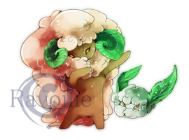 Coton pokemon by Ravoilie