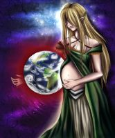 Mother Earth by Discarbia