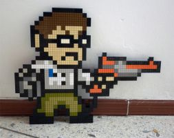LEGO: Angry Video Game Nerd by Meufer