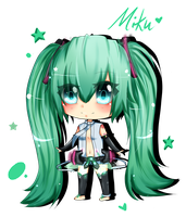 VOC: Miku Append by Abhie008