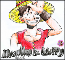 One Piece - Monkey D. Luffy by NadiaCoelho
