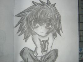 (Death Note) L by CranicTH