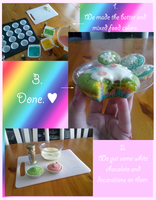 Making rainbow muffins. by Yuitokanika