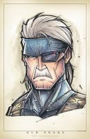 Metal Gear by RobDuenas