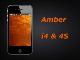 Amber i4 and 4S Wallaper by biggzyn80