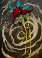 Tall Dreamtime Creature by zyphryus