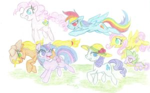 on a trot by Skittatle