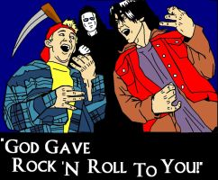 'God gave rock 'n roll to you' by Trixen