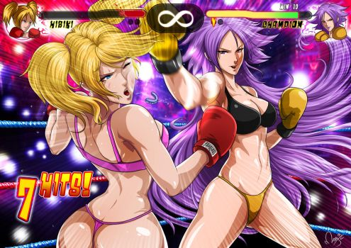 MMA Girls by magion02