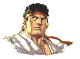 Ryu - Street Fighter by Mick-cortes