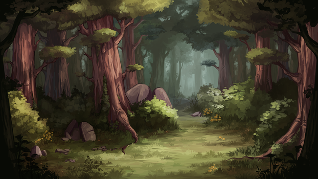 Forest#2 by Mihitsu