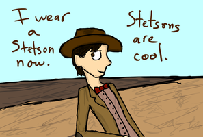 Stetsons Are Cool. by Revolution-Nein