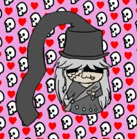 Undertaker Chibi by ConstantConfusionBK