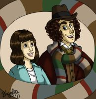DW: Me and Sarah Jane by cardinalbiggles