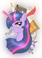 MLP FIM - The Magic of Twilight Sparkle by Joakaha