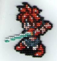 Chrono Trigger Keychain by StitchPlease