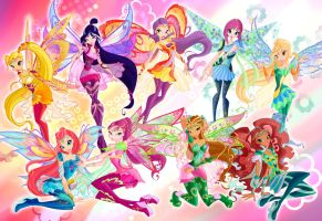 Winx Club Bloomix by fantazyme
