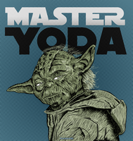 Master Yoda by Fluorescentteddy