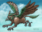 HunterStrait OC Eagledon by zenzmurfy