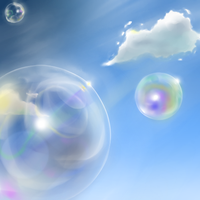 Background Practise1 - Bubbles by JauneAnora