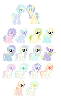 Aquamarine and PastellDash offer to adopt by SeaStarOceans