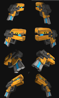 I made a pistol for Engie by Py-Bun