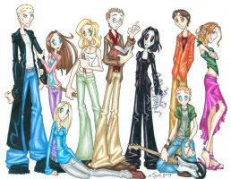 Tha Scooby Gang by SybLaTortue