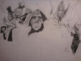 Star Wars Sith Lords collage update by ravencolored