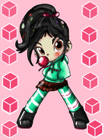Vanellope::COLORED:: by DanaDani