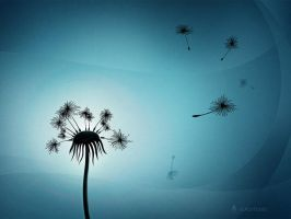 Dandelion by vladstudio