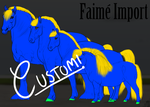 Custom Faime Import- raffle/Point sale by Auraleyki