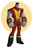 wolverine : Colossus concept by hyperjack08