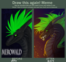 Draw This Again - Merowald by Krysiilys