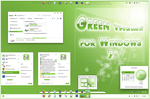Green Theme for Windows 7 by Takara777