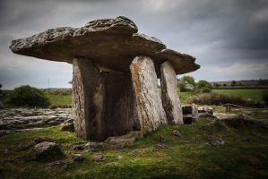 Poulnabrone Portal Tomb by tbeam3472