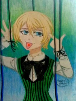 Alois Trancy (Black Butler) by CrypticCipher