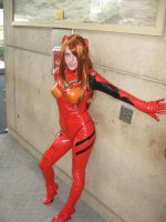 Plug-Suit Asuka by AngstyGuy