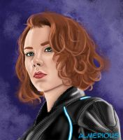 Black Widow by Almerious