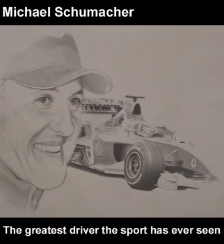 Michael Schumacher - Pencil by Dylan21
