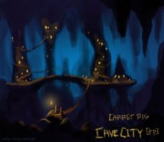 cover for Cave City by Carpet Pig by genusarcturus