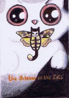 Silence of the lambs funny cat by KingZoidLord