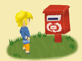 Linkandmailbox by RadiantFuture