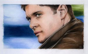 Colorful Dean Winchester by kleinmeli