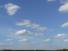 stock blue sky with clouds 02 2013-04 by Nexu4