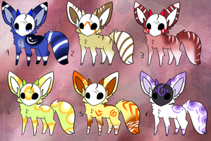 CLOSED - Maskees Adoptables 277 by LeaAdoptables
